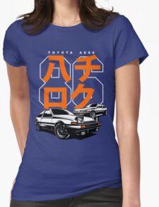 Hachiroku Womens Fitted T-Shirt