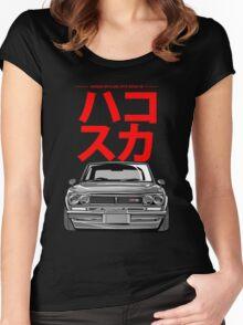 Hakosuka Women's Fitted Scoop T-Shirt