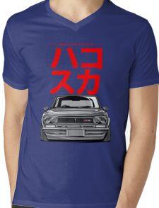 Hakosuka Mens V-Neck T-Shirt