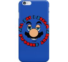 a.d.i.d.a.s. (all day i dream about shrooms)  iPhone Case/Skin