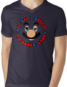 a.d.i.d.a.s. (all day i dream about shrooms)  Mens V-Neck T-Shirt