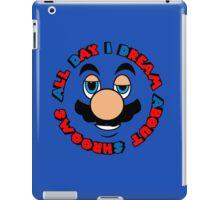 a.d.i.d.a.s. (all day i dream about shrooms)  iPad Case/Skin