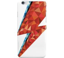 Low Poly Bowie Bolt iPhone Case/Skin