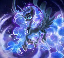 Luna sparkles by Dawnfire