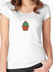 be. Women's Fitted Scoop T-Shirt