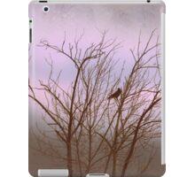 driving through the fog iPad Case/Skin