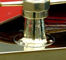 "A 1915 Model T ~ ""Motometer""  which is a ~ Hood Ornament ~ Radiator Cap ~Temperature Gauge~ Sticker"
