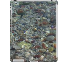 River Water and Rock Reflections iPad Case/Skin