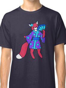 Little Red Fox in a Kimono  Classic T-Shirt