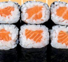 sushi pantone Sticker