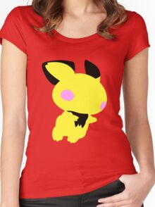 Smash Bros - Pichu Women's Fitted Scoop T-Shirt