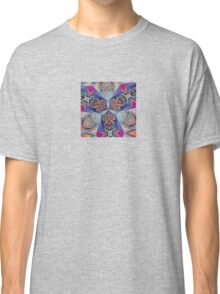 The Rule of Thirds Abstract Kaleidoscope Pattern Classic T-Shirt