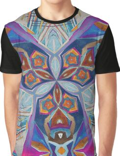 The Rule of Thirds Abstract Kaleidoscope Pattern Graphic T-Shirt