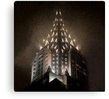 Chrysler Fog Lights (sw) Canvas Print