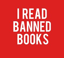 I Read Banned Books - Red II Unisex T-Shirt