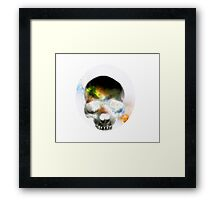 By The Throat  Framed Print