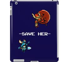 Save Her (for Dark Backgrounds) iPad Case/Skin