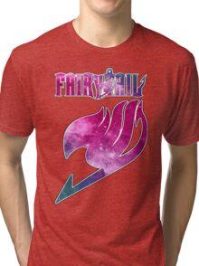 Fairy Tail - Pink Galaxy Logo Tri-blend T-Shirt