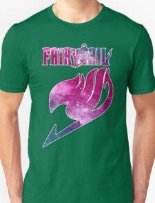 Fairy Tail - Pink Galaxy Logo Unisex T-Shirt