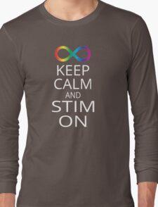 Keep Calm and Stim On Long Sleeve T-Shirt