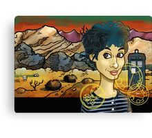 Unearthly Child Canvas Print