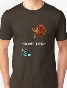 Save Her (for Dark Backgrounds) T-Shirt