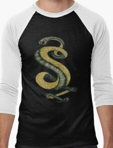 Tunnel Snakes Rule! Men's Baseball ¾ T-Shirt