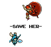 Save Her (for Light Backgrounds) Photographic Print