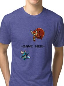 Save Her (for Light Backgrounds) Tri-blend T-Shirt