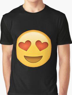 heart eyed emoji Graphic T-Shirt