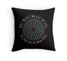The Devil wears prada logo band Throw Pillow