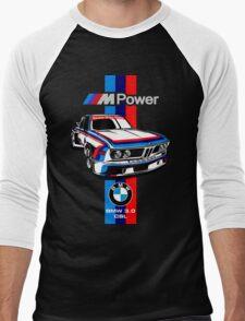 M Power Men's Baseball ¾ T-Shirt