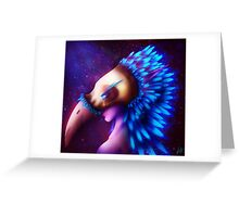 Feathers - Night Elf Greeting Card