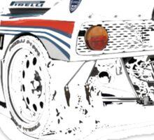 Lancia Stratos Martini Sticker