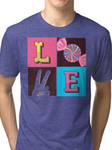 L.O.V.E  Tri-blend T-Shirt