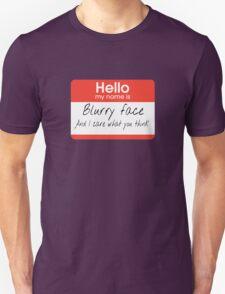 Twenty One Blurryface Pilots T-Shirt