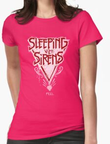 Sleeping with sirens music band Womens Fitted T-Shirt