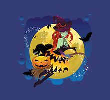Witch and Full Moon 2 Unisex T-Shirt