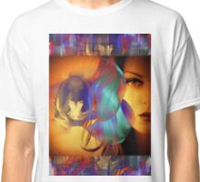 6572_2nd Orchid Goddess  Classic T-Shirt