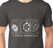 3 Piece Syndicate Wheels Unisex T-Shirt