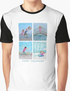 Happy childhood Graphic T-Shirt