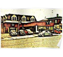 VW Garage Poster