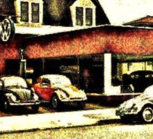 VW Garage Sticker