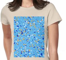 Bedtime Stories BLUE Womens Fitted T-Shirt