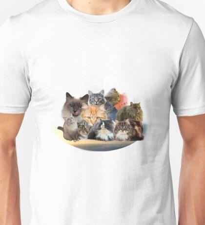 cats  2 Unisex T-Shirt