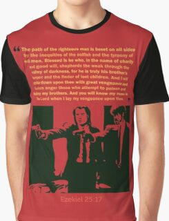 Ezekiel 25:17 Graphic T-Shirt