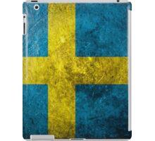 Sweden Grunge iPad Case/Skin
