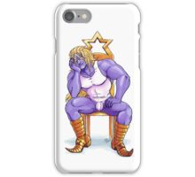 DIO - What's a King to a God? iPhone Case/Skin