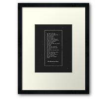 The Laughing Heart II Framed Print