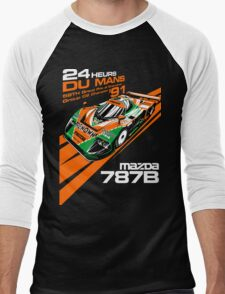 DU Mans Mazda 787B Men's Baseball ¾ T-Shirt